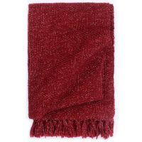 vidaXL Декоративно одеяло, лурекс, 125x150 см, бордо