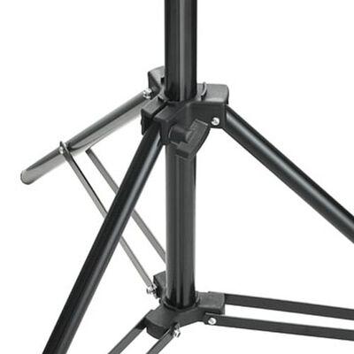 vidaXL Трипод, регулируема височина 78-210 см.