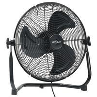 vidaXL Наземен вентилатор, 3 скорости, 40 см, 40 W, черен