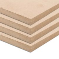 vidaXL 4 бр МДФ плоскости, квадратни, 60x60 см, 25 мм