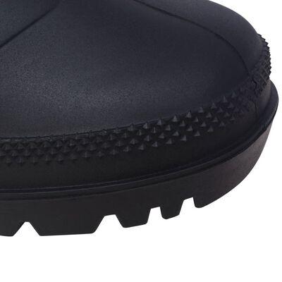 vidaXL Ботуши Wellington, размер 46, черни