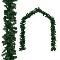 vidaXL Коледен гирлянд, PVC, 20 м