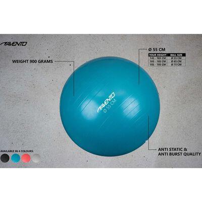 Avento Фитнес/гимнастическа топка, диаметър 55 см, синя