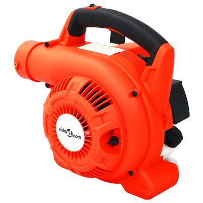 vidaXL Бензинова духалка за листа, 3 в 1, 26 см3, оранжева
