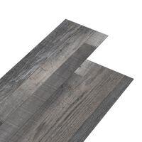 vidaXL PVC подови дъски 4,46 м² 3 мм самозалепващи индустриално дърво