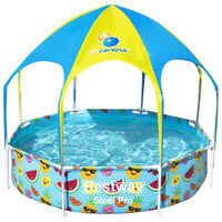 Bestway Надземен басейн за деца Steel Pro UV Careful, 244x51 см