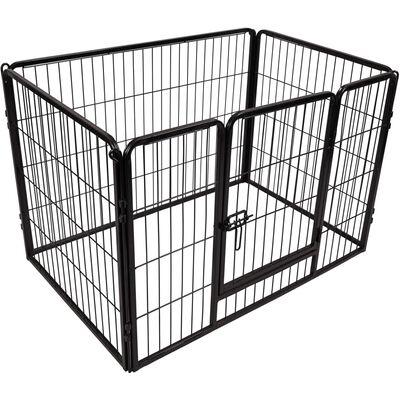 FLAMINGO Клетка за куче Kazan, р-р М, 109x72x72 см, черна