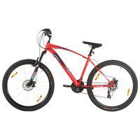 vidaXL Планински велосипед 21 скорости 29 цола 48 см рамка червен