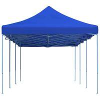 vidaXL Сгъваема парти шатра, 3x9 м, синя