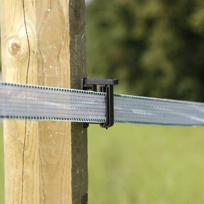 Neutral Клипс изолатори за електропастир с винт за широка лента 80 бр