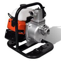vidaXL Бензинова водна помпа 2-тактова 1,2 kW 0,95 л