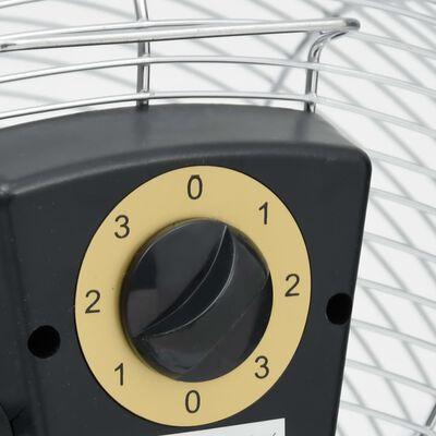 vidaXL Наземен вентилатор, 3 скорости, 55 см, 100 W