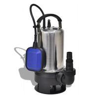 vidaXL Потопяема помпа за замърсена вода, 1100W, 16500л/ч