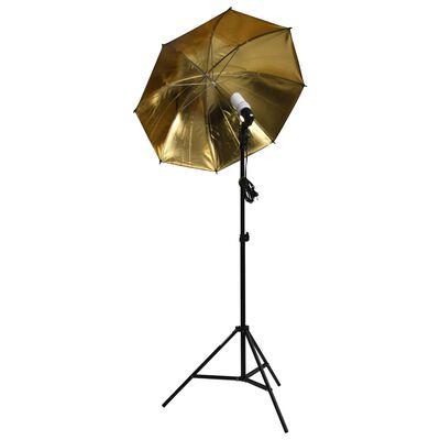 vidaXL Фотографски комплект със студийно осветление и софтбокс