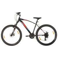 vidaXL Планински велосипед 21 скорости 29 цола 48 см рамка черен