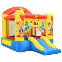 Happy Hop Надуваем батут с пързалка, 330x230x230 см, PVC