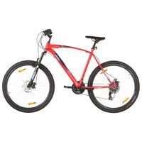 vidaXL Планински велосипед 21 скорости 29 цола 53 см рамка червен