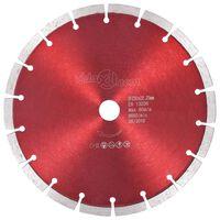 vidaXL Диамантен режещ диск, стомана, 230 мм