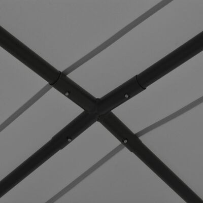vidaXL Градински навес, 4x4 м, антрацит