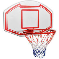 vidaXL Комплект баскетболно табло от 3 части за стенен монтаж 90x60 см