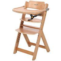 Safety 1st Столче за хранене Timba, натурално дърво, 27620100