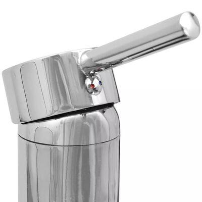 vidaXL месингов смесител за баня