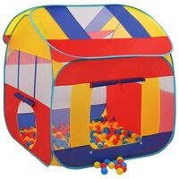 vidaXL Палатка за игра с 300 топки, XXL