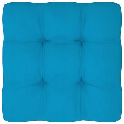 vidaXL Палетни възглавници за диван, 2 бр, сини