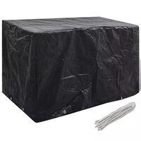 Покривало за градински мебели, 8 капси, 140 x 70 x 90 см