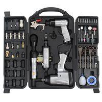 vidaXL Комплект пневматични инструменти от 70 части