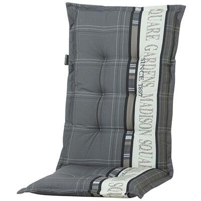Madison Възглавница за стол с гръб Garden 123x50 см сива PHOSA056