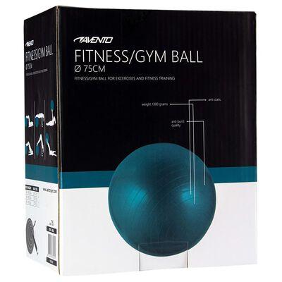 Avento Фитнес/гимнастическа топка, диаметър 75 см, синя
