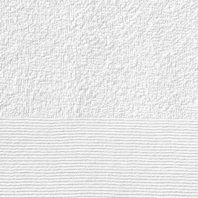 vidaXL Кърпи за ръце, 10 бр, памук, 350 г/м², 50x100 см, бели