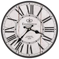 vidaXL Винтидж стенен часовник Лондон, 30 см