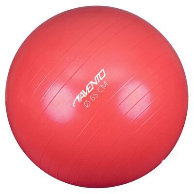 Avento Фитнес/гимнастическа топка, диаметър 65 см, розова