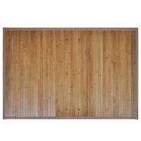 Бамбукова постелка за баня 60 x 90 см, кафява