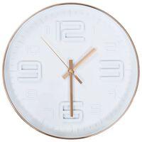 vidaXL Стенен часовник, имитация на мед, 30 см