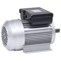 vidaXL Еднофазен електромотор алуминий 1,5 kW/2 кс 2 полюса 2800 об/м