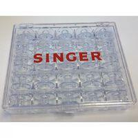 Singer Кутия за съхранение на макари за шевна машина, с 25 макари