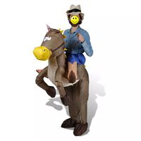 Надуваем костюм каубой с кон