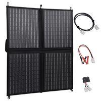 vidaXL Сгъваем соларен панел, 80 W, 12 V