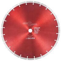 vidaXL Диамантен режещ диск, стомана, 350 мм