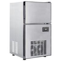 vidaXL Ледогенератор, 420 W, 50 кг/24 часа