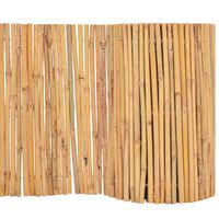 vidaXL Бамбукова ограда, 500x30 см