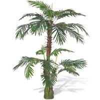 vidaXL Изкуствена палма цикас, 150 см
