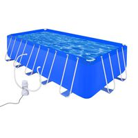 Стоманен басейн с помпа 540 x 270 x 122 см