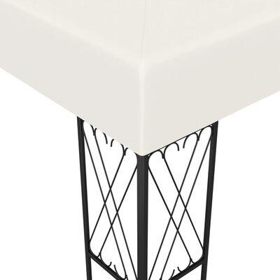 vidaXL Шатра, 3х4 м, кремава, текстил