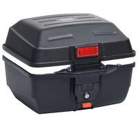 vidaXL Горен куфар за мотор, 24 л, за една каска