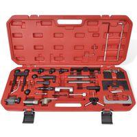 Комплект инструменти за зацепване на двигатели, дизел и бензин