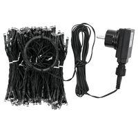 vidaXL Коледни лампички мрежа с 250 LED IP44 250 см
